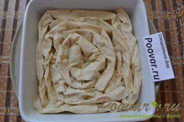 Пирог с творогом и бананами Шаг 10 (картинка)