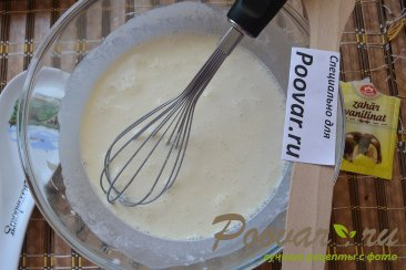Пирог с творогом и бананами Шаг 12 (картинка)