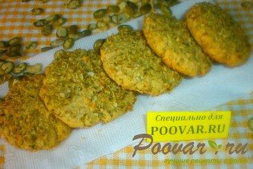 Печенье с тыквенными семечками Изображение