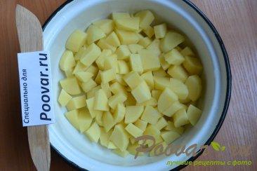 Куриный суп с картофелем в мультиварке Шаг 5 (картинка)