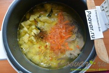 Куриный суп с картофелем в мультиварке Шаг 7 (картинка)