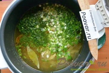 Куриный суп с картофелем в мультиварке Шаг 11 (картинка)