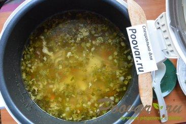 Куриный суп с картофелем в мультиварке Шаг 12 (картинка)