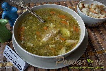 Куриный суп с картофелем в мультиварке Изображение