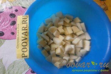 Суп из свиной грудинки с фасолью Шаг 5 (картинка)