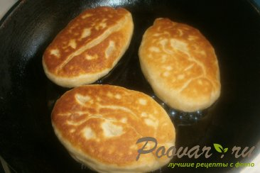 Жареные пирожки из дрожжевого теста Шаг 19 (картинка)