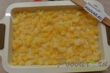 Пирог с консервированными ананасами Шаг 13 (картинка)