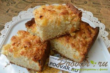 Пирог с консервированными ананасами Изображение