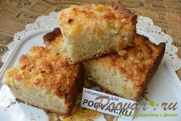 Пирог с консервированными ананасами Шаг 17 (картинка)
