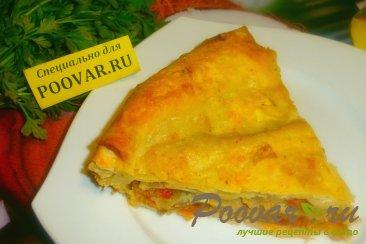 Пирог с луком и сыром из лаваша Шаг 20 (картинка)