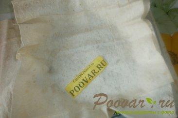Пирог с луком и сыром из лаваша Шаг 13 (картинка)