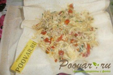 Пирог с луком и сыром из лаваша Шаг 16 (картинка)