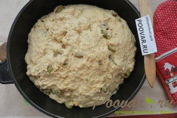 Хлеб без замеса с оливками и сыром Шаг 14 (картинка)