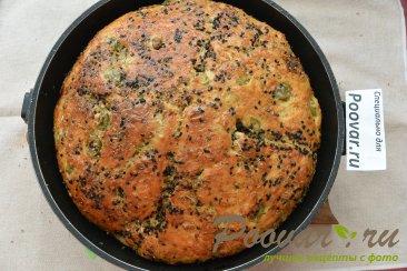 Хлеб без замеса с оливками и сыром Шаг 18 (картинка)