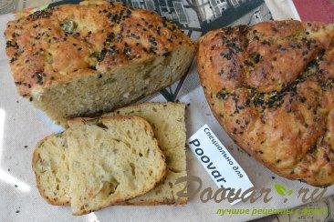 Хлеб без замеса с оливками и сыром Шаг 20 (картинка)