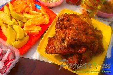 Курица на мангале Изображение