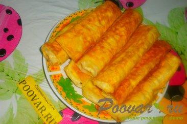 Спринг - роллы с сыром и зеленью Шаг 17 (картинка)