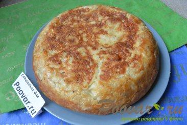 Пирог из лаваша с колбасой в мультиварке-скороварке Шаг 19 (картинка)