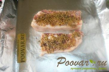 Свиная грудинка в фольге с горчицей Шаг 6 (картинка)