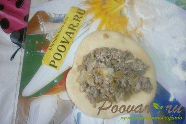 Пирожки на кефире с куриными желудками Шаг 14 (картинка)