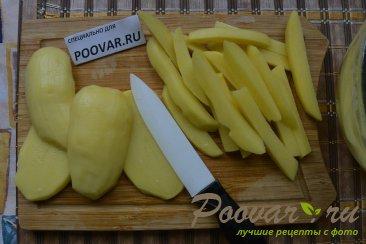 Картофель фри с маслом в духовке Шаг 2 (картинка)