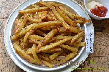 Картофель фри с маслом в духовке Шаг 10 (картинка)