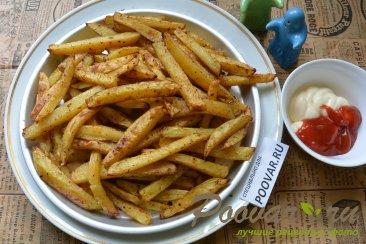 Картофель фри с маслом в духовке Шаг 11 (картинка)
