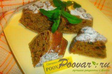 Пирог с сухофруктами на чае Изображение