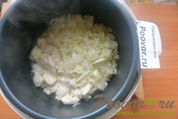 Курица с картофелем и сметаной в мультиварке-скороварке Шаг 3 (картинка)