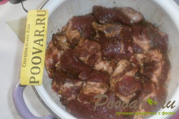 Пряный шашлык из свинины Шаг 6 (картинка)