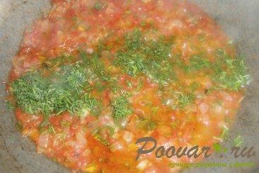 Макароны с томатным соусом Шаг 10 (картинка)