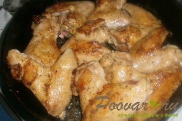Тушёные куриные крылышки Шаг 7 (картинка)