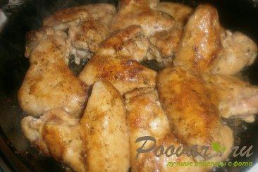 Тушёные куриные крылышки Шаг 8 (картинка)