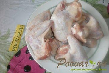 Тушёные куриные крылышки Шаг 1 (картинка)