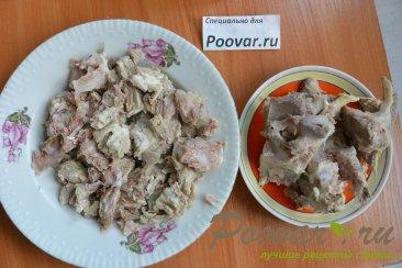 Суп с мясом и грибами в мультиварке-скороварке Шаг 2 (картинка)