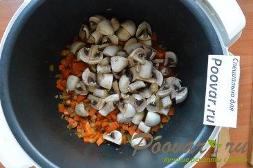 Суп с мясом и грибами в мультиварке-скороварке Шаг 6 (картинка)