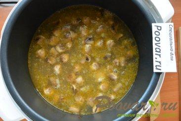 Суп с мясом и грибами в мультиварке-скороварке Шаг 9 (картинка)