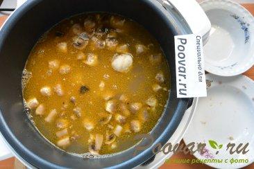 Суп с мясом и грибами в мультиварке-скороварке Шаг 10 (картинка)