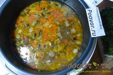 Суп с мясом и грибами в мультиварке-скороварке Шаг 13 (картинка)