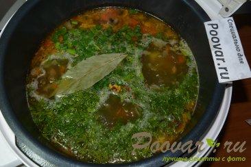 Суп с мясом и грибами в мультиварке-скороварке Шаг 14 (картинка)