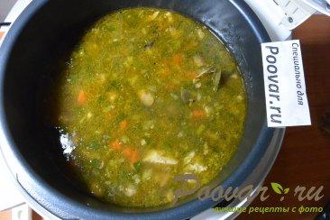 Суп с мясом и грибами в мультиварке-скороварке Шаг 15 (картинка)