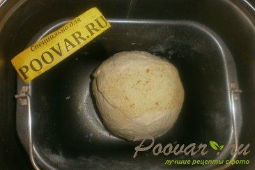 Пирог с сыром и колбасой из дрожжевого теста Шаг 2 (картинка)
