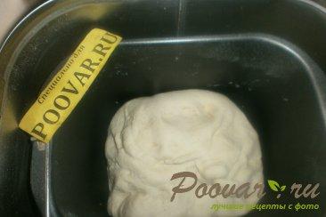 Пирог с сыром и колбасой из дрожжевого теста Шаг 4 (картинка)