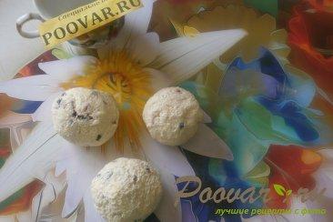 Творожные сырники с кукурузными хлопьями и сухофруктами Шаг 8 (картинка)