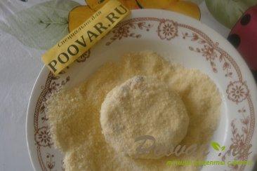Творожные сырники с кукурузными хлопьями и сухофруктами Шаг 10 (картинка)