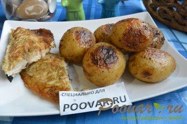 Молодой картофель запечённый в духовке целиком Изображение