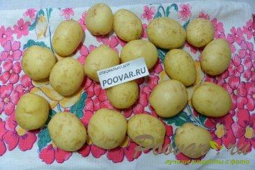 Молодой картофель запечённый в духовке целиком Шаг 1 (картинка)