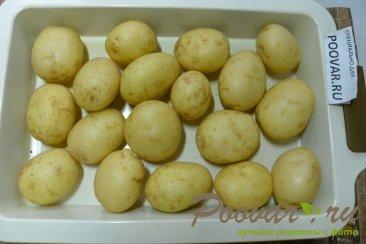 Молодой картофель запечённый в духовке целиком Шаг 2 (картинка)