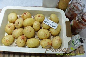Молодой картофель запечённый в духовке целиком Шаг 3 (картинка)