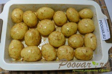 Молодой картофель запечённый в духовке целиком Шаг 5 (картинка)